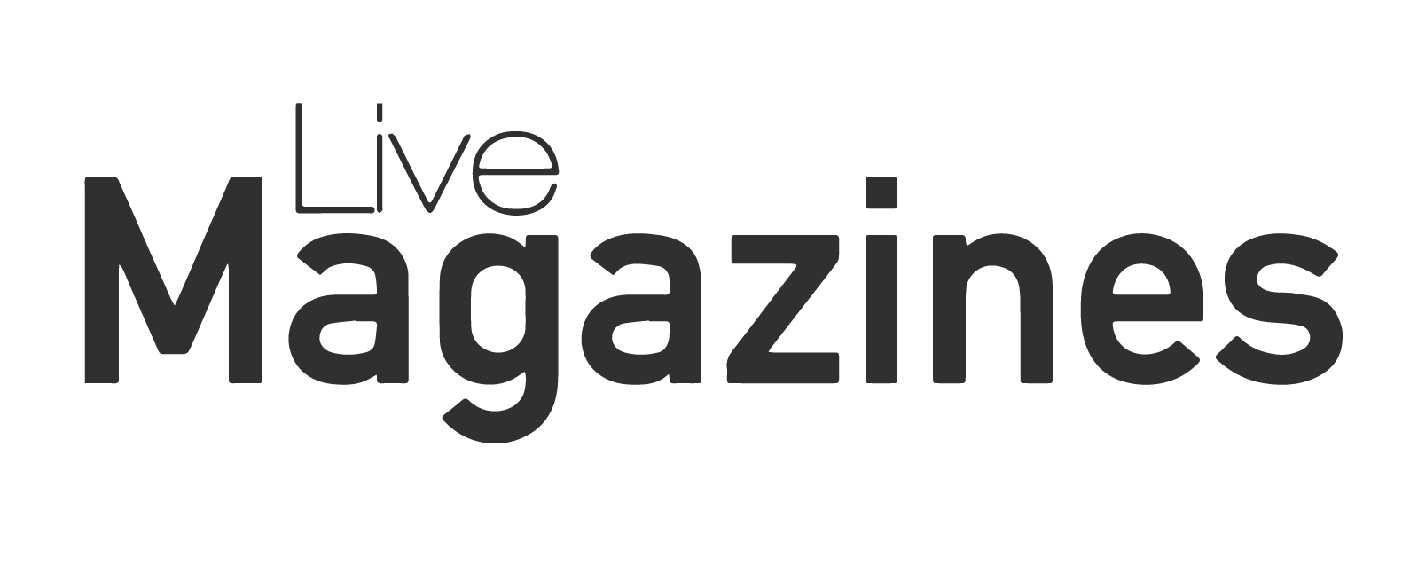 thinner image - live magazine black logo