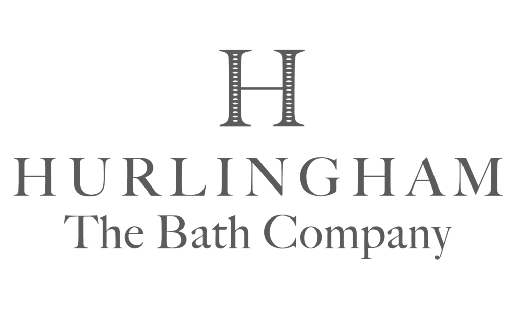 hurlingham bathrooms logo grey