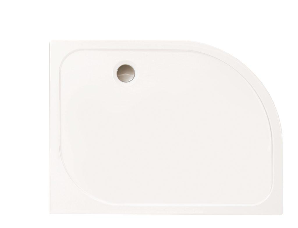 merlyn mstone shower tray right hand